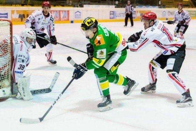 EHC Lustenau verliert in Cortina