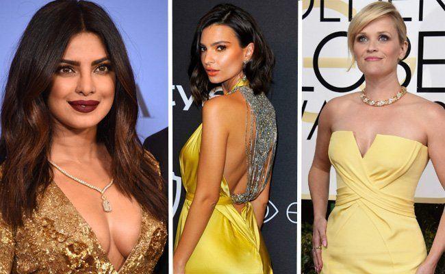 Heiße Outfits bei den Golden Globes.