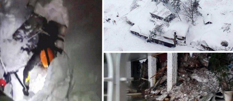 """Lawine begräbt nach einem Erdbeben ein ganzes Hotel unter sich: """"Gibt viele Tote!"""""""