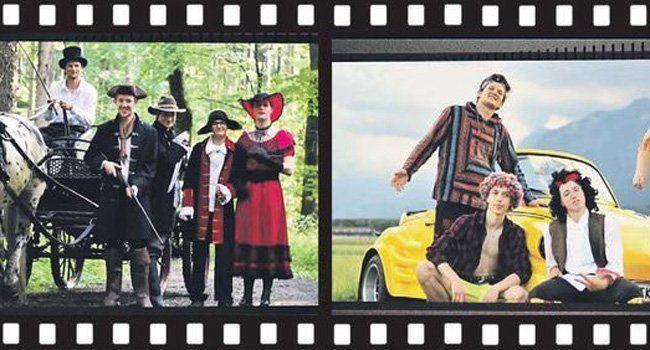 """Die 5BHA der HTL Bregenz begibt sich in ihrem Matura-Video """"Wheel Of Time"""" auf eine Zeitreise."""