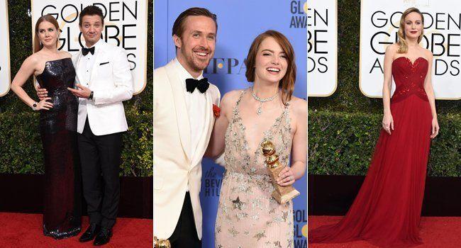 Das waren die schönsten Kleider bei den Golden Globes 2017.