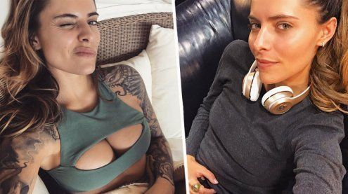 Von D auf B! Sophia Thomalla hat ihre Brüste verkleinern lassen