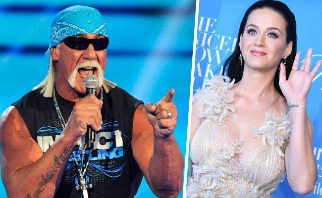 Hulk Hogan und Katy Perry sind Künstlernamen.