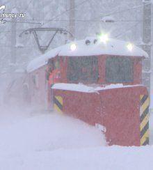 Schneepflug Klima im Ländle im Einsatz
