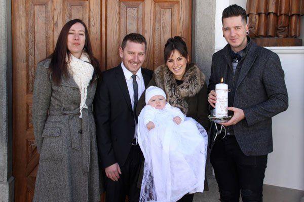 Taufe von Aaron Karl Ganahl