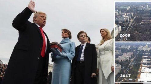 """""""Die größte Zuschauerzahl aller Zeiten"""" – Trumps eigene Wahrheit"""