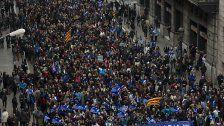 Barcelona: 160.000 demonstrierten für Flüchtlings-Aufnahme