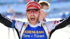 Simon Eder holt Bronze bei Biathlon-WM