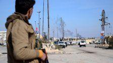 IS-Hochburg offenbar an Rebellen gefallen