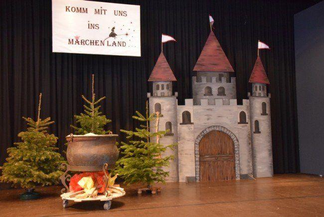 """Das """"Frouakränzle"""" in Doren stand unter dem Motto """"Im Märchenland"""""""