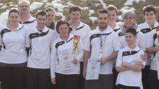 Gold und Silber für die Bahnengolfer im Ö-Cup