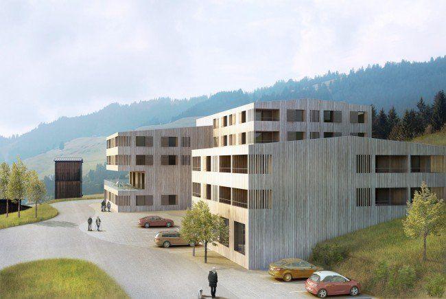 So soll das neue Hotel nach den aktuellen Plänen von Johannes Kaufmann aussehen.