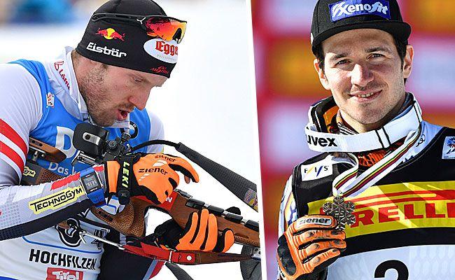 Biathlet Landertinger oder Skifahrer Neureuther, wer lieferte den besseren Spruch?