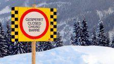 Vorarlberg: Felsausbruch in Lech löst Lawine aus
