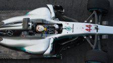 Mercedes stellt neuen Formel-1-Silberpfeil vor