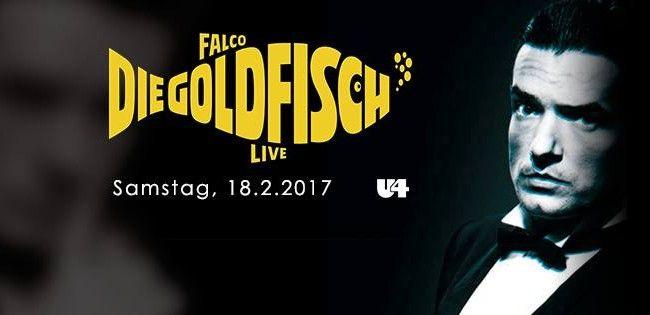 Das Wiener U4 feiert Falcos 60. Geburtstag.