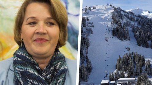 Dornbirner Bürgermeisterin nach Skiunfall in Damüls im Spital