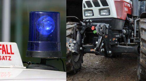 Traktor überrollt Kind: 2-Jährige stirbt bei Unfall in Dornbirn