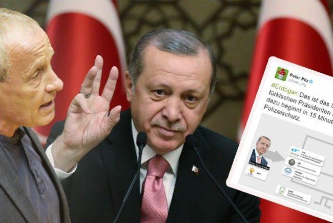 Peter Pilz erhebt schwere Vorwürfe gegen Erdogan und die Türkei.