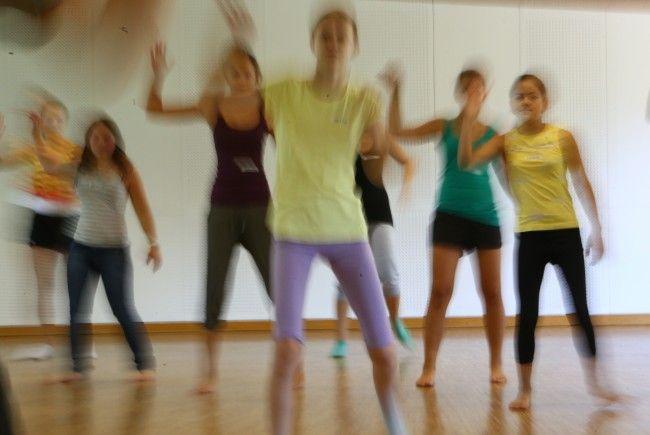 Musik- und Tanz-Workshop im Jugend- und Bildungshaus St. Arbogast in Götzis.