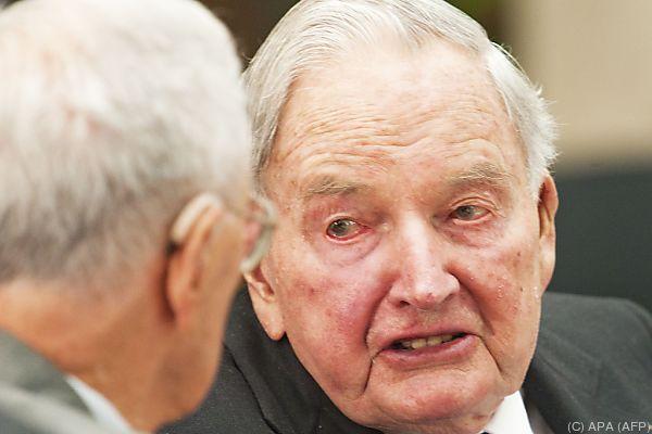 Rockefeller wurde 101 Jahre alt
