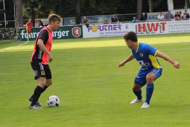 Hohenems nach starker Vorstellung gegen Hard im Cup-Viertelfinale