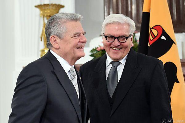 Gauck übergibt das Amt an Steinmeier