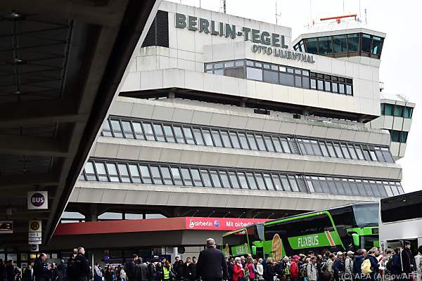Zwischenfall löste Großeinsatz am Flughafen Tegel aus