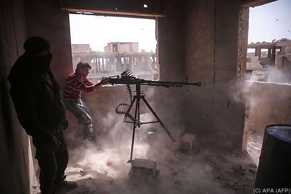 Heftige Kämpfe in Damaskus