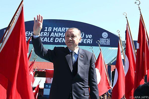 Erdogan wirft Europa Faschismus vor