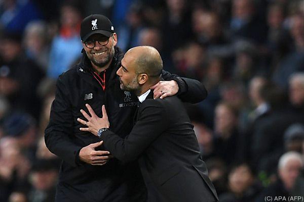 Punkteteilung im Trainer-Duell Klopp gegen Guardiola