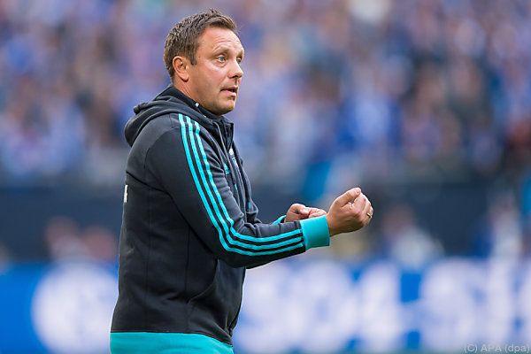 Andre Breitenreiter war zuletzt Coach bei Schalke 04