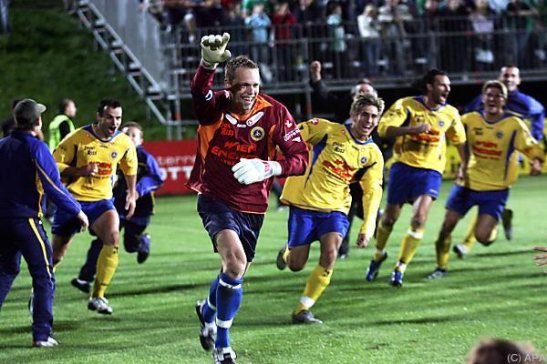 Den Cup-Erfolg gegen Rapid im September 2006 sahen 5.000 Zuschauer
