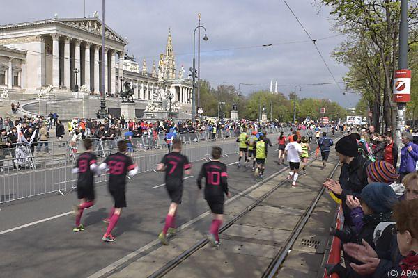 Der Wien-Marathon wirft seine Schatten voraus
