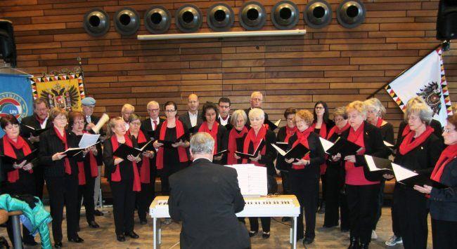 Chorauftritt Liederhort Tosters