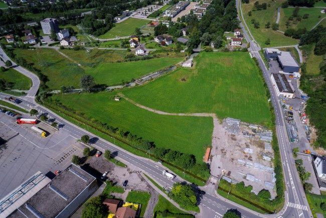 Das Areal in Bludesch wäre ein möglicher neuer Standort für Ölz.