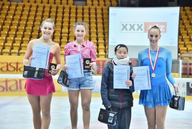 Siegerehrung Junioren Damen