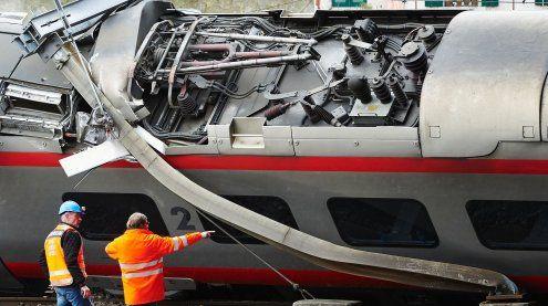 Vier Menschen nach Zugunglück bei Luzern im Krankenhaus