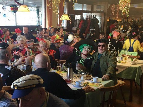 Pensionistenverband  Bregenz feiert den Rosenmontag