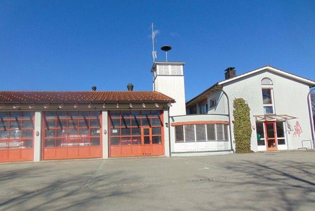 Das Feuerwehrhaus Mäder wird in diesem Jahr erweitert