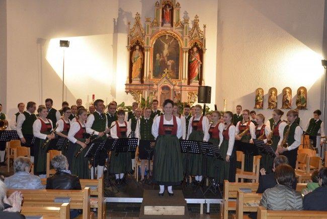 Frühjahrskonzert Musikverein Mellau