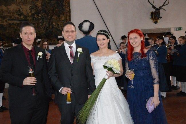 Laura Koch und Marcel Gorbach haben geheiratet