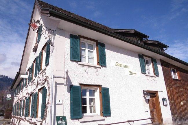 Namensgeber, der bis heute besteht: Das Gasthaus Sternen in Bangs.