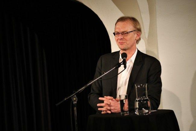 """Dieter Thomä las aus seinem neuem """"Puer robustus - Eine Philosophie des Störenfrieds"""" Buch vor."""