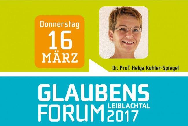 """Dr. Prof. Helga Kohler-Spiegel (Psychotherapeutin/Autorin) ist am Donnerstag, 16. März, um 19.30 Uhr die Referentin beim Glaubensforum """"Glauben heißt Leben"""" im Lochauer Pfarrheim."""