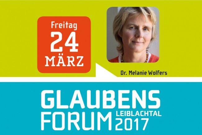 """Dr. Melanie Wolfers (Seelsorgerin/Autorin) ist am Freitag, 24. März, um 19.30 Uhr die Referentin beim Glaubensforum """"Glauben heißt Leben"""" im Lochauer Pfarrheim."""