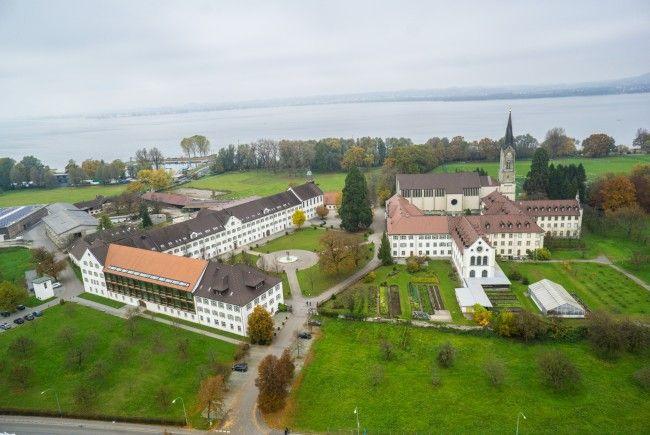 Das Kloster Mehrerau will 200 neue Parkplätze bauen.