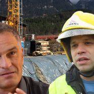 Megabaustellen in Bludenz: Zufahrt für Feuerwehren erschwert
