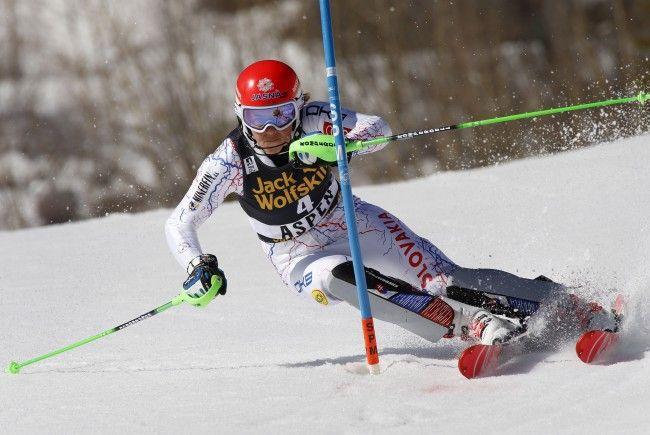 Die Slowakin Petra Vlhova gewinnt den letzten Slalom der Saison in Aspen. Bernadette Schild landet auf Rang neun.