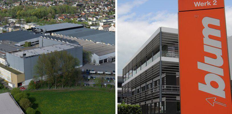 Blum, Zumtobel und Co: Die Top 12 der Umsatz-Giganten in Vorarlberg 2016!
